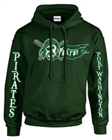 Port Washington Pirates Pullover Hoodie