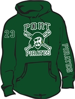 Port Washington Pirates Custom Softball Hoodies