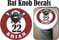 Rebels Baseball of Oregon Custom Bat Knob