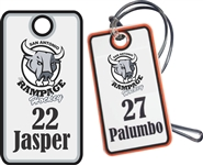 Jr Rampage Custom Hockey Bag Tags