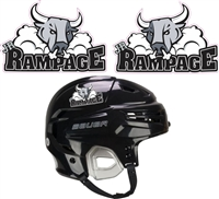 Custom Jr Rampage Hockey Helmet Decals