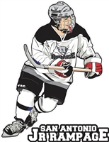 Jr Rampage Hockey Car Window Decal Player 17