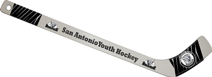 San Antonio Jr Rampage Hockey Mini Sticks
