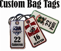 Siksika Custom Bag Tags
