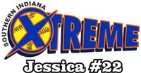 Southern Indiana Xtreme Softball Custom Softball Decals | Stickers for your Car Window