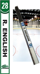 Stowe Raiders Hockey Stick TAG