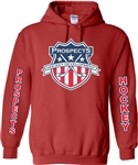 The Prospects Hockey Custom Long Sleeve Black Hoodies