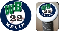 West Bend Bulldogs Baseball Custom Bat Knob