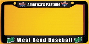Custom Metal License Plate Frames you can customize.