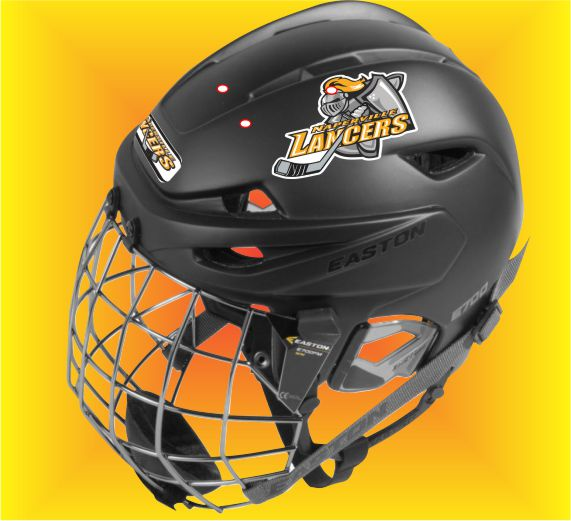 Premium Custom Hockey Helmet Decals and Stickers