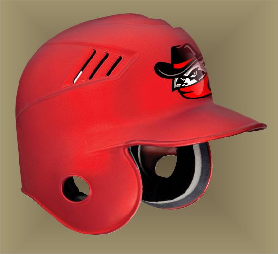 Premium Custom Baseball Helmet Decals and Stickers