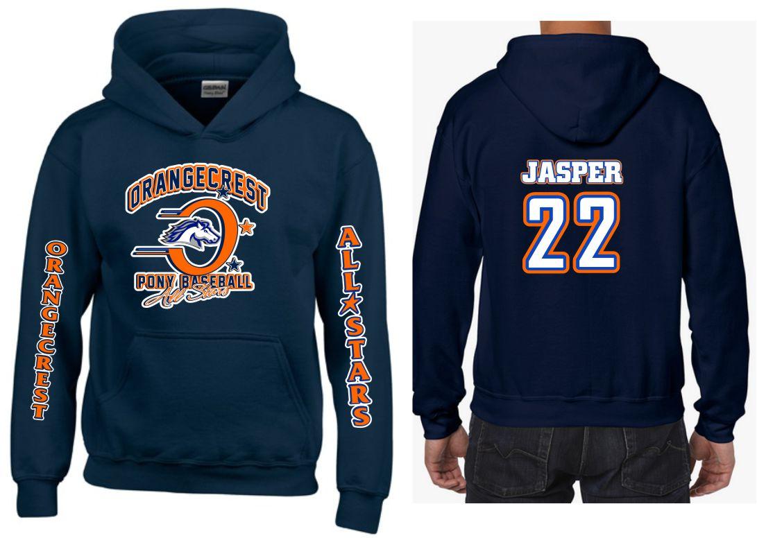 Clothing Baseball Orangecrest Hoodies Custom Tagsports Pony Through The 2019 NFL Season