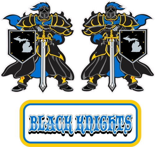 Black Knights Hockey Team Store Banner