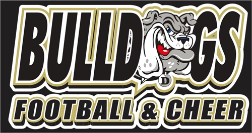 Deerfield Bulldogs Football and Cheer Team Store Banner