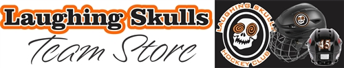 Laughing Skulls Hockey Club Team Store Banner