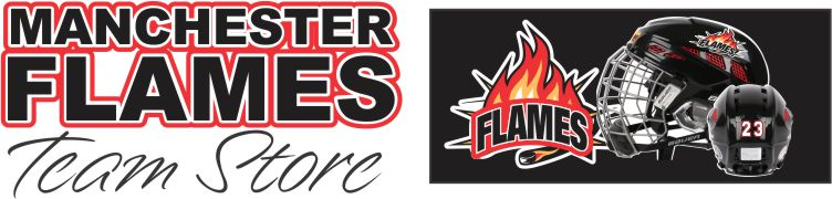 Manchester Flames Youth Hockey Team Store Banner