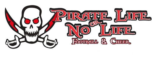 Palm Bay Pirate Football and Cheer Team Store Banner