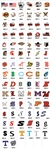 Custom Baseball Helmet Award Decals | Stickers