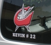 Custom Baseball Decals | Stickers for your Car Window