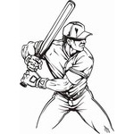 Baseball  Decals | Stickers for your Car Window