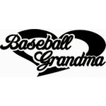 Baseball Grandma Car Window Decals | Stickers