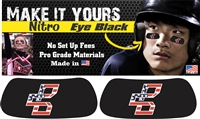 Bat Company Baseball Club and Softball Custom Player Eye Black