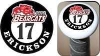 BGRA Bearcats Baseball Club Custom Baseball Bat Knob