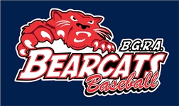 BGRA Bearcats Baseball Club Custom Baseball Decals | Stickers for your Car Window