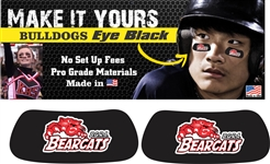 BGRA Bearcats Baseball Club and Softball Custom Player Eye Black