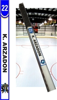 Black Knights Hockey Stick TAG