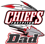CYA Connetquot Chiefs FastPitch Custom Car Decal