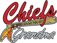 Connetquot Chiefs Baseball Grand Mom Car Decals