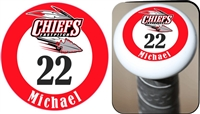 Connetquot Chiefs Youth Fastpitch Custom Bat Knob