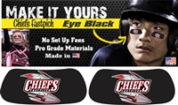 Connetquot Chiefs Fastpitch Softball Eye Black