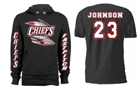 Connetquot Chiefs Fastpitch Softball Custom Hoodie