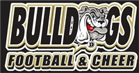 Deerfield Bulldogs Football Custom Football Decals 