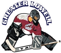 Custom Greater Lowell Custom Hockey Car Decals
