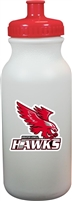 Greater Lowell Hawks Ice Hockey Water Bottle with team logo