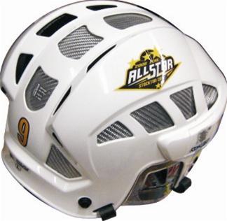 Hockey Helmet Decals - Free Samples - send your logo