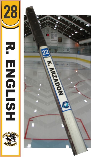 Hockey Stick Name Tags Hockey Stick Tag Tagsports