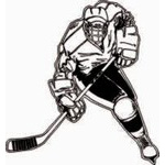 HP14 Hockey Sticker