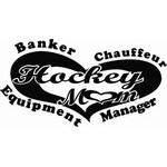 Hockey Mom Banker - Hockey Decal