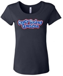 Custom Crazy Hockey Grandma Tee