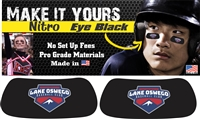 Lake Oswego Baseball Club and Softball Custom Player Eye Black