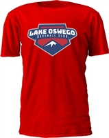 Lake Oswego Custom Baseball T-shirts