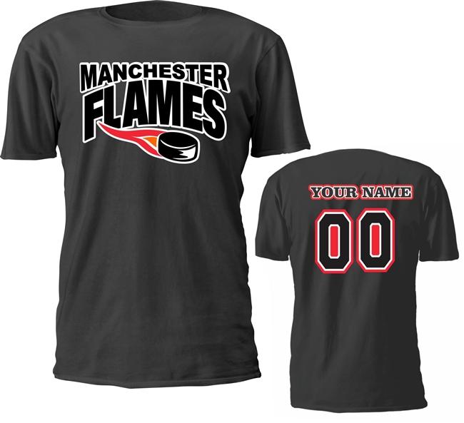 Manchester Flames Hockey Club Beautifully Designed