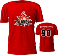 Manchester Flames Hockey Club Hockey Custom t-Shirts
