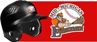 Mid Michigan Lumbermen Baseball Helmet Decals | Stickers