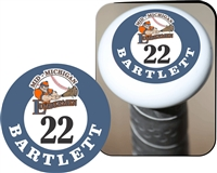 Mid Michigan Lumberment Baseball Club Custom Bat Knob