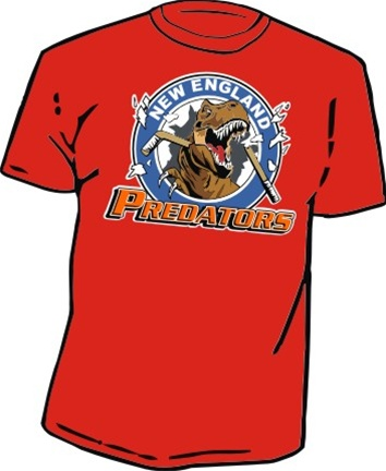 new england predator custom hockey t shirts long sleeve